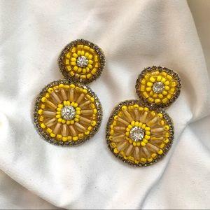 Anthropologie Beaded Earrings